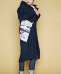 주스토() ANTIRACISM COAT[NAVY]