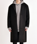쟈니웨스트(JHONNY WEST) Singler Boucle Coat (Black)