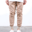 RUSTIC DIME JOGGER FIT STRETCH TWILL (ALMOND)
