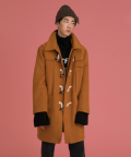 러브이즈트루(LUV IS TRUE) (UNISEX)CE  DUFFLE COAT_YE