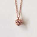 Love Dia knot necklace