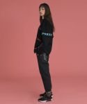 러브이즈트루() (UNISEX)CE MENU PANTS_BK