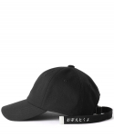 버빌리안(BUBILIAN) Bubilian long strap ball cap [black]