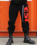 이에스씨 스튜디오(ESC STUDIO) racing pants(black)
