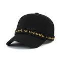 HVPE LONG STRAP BALL CAP BLACK/GOLD