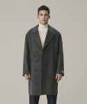가먼트레이블() Handmade Half double Coat - Sharkskin Gray