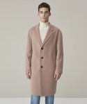 가먼트레이블(GARMENT LABLE) Handmade Single Coat - Deep Pink
