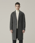 가먼트레이블(GARMENT LABLE) Handmade Single Coat - Sharkskin Gray