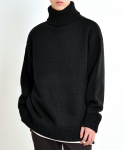 베리베인() TP65 WELL MADE KNIT TURTLE NECK (BLACK)