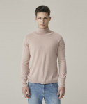 가먼트레이블(GARMENT LABLE) Basic Turtleneck Knit - Pink