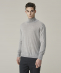 Basic Turtleneck Knit - Gray
