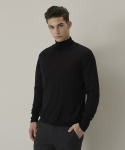 Basic Turtleneck Knit - Black