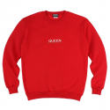 킹포에틱(KING POETIC) [KING POETIC] QUEEN POETIC CREWNECK KP-QC002 (RED)