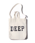 벗딥(BUTDEEP) DEEP SQUARE ECO BAG-IVORY
