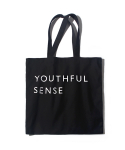 벗딥(BUTDEEP) SQUARE ECO BAG-BLACK