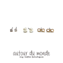 오뜨르 뒤 몽드(AUTOUR DU MONDE) GIRILISH DAILY EARRING SET