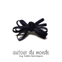 오뜨르 뒤 몽드(AUTOUR DU MONDE) FIVE RIBBON HAIRPIN (NAVY)