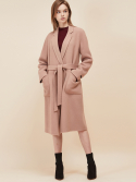 룩캐스트(LOOKAST) PINK NOTCHED LAPEL HANDMADE COAT