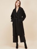 룩캐스트(LOOKAST) BLACK OVERSIZE HANDMADE COAT
