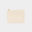 살랑(SALRANG) Dijon M201 Flap mini Card Wallet cream beige
