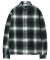 모디파이드(MODIFIED) M#1106 retro check shirt (green)