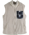 PATCH WOOL VEST_I