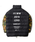 [IZRO X NAME OUT] Oversized Duckdown Jacket - Multi
