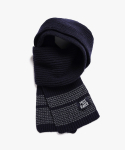 피스메이커(PIECE MAKER) STITCH WOOL MUFFLER (NAVY)