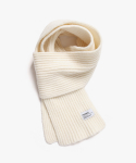 피스메이커(PIECE MAKER) SOLID LAMBSWOOL MUFFLER (WHITE)