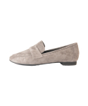 Suede Penny Loafer_Grey