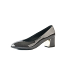 Patent Leather Basic Pumps_Grey