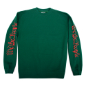 HSTRY Scrolls Crew Neck (Forest Green)