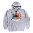 히스토리바이나스(HSTRY) HSTRY Crest Hoodie (Athletic Grey)