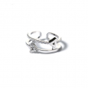 마이믹스드디자인(MY MIXED DESIGN) Double Arrows Cubic Ring