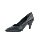 Out-Stitch Pointed-Toe Pumps_Black