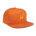 허프(HUF) HUF SCRIPT DUCK SNAPBACK [2] (BURNT ORANGE)