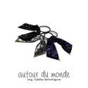 오뜨르 뒤 몽드(AUTOUR DU MONDE) JEWEL VELVET HAIR TIE (3COLORS)