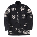 더 매드니스(THE MADNESS) WORRIORS M-65 JKT_BK