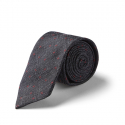커스텀멜로우(CUSTOMELLOW) [customellow] stitch cross pattern tie_CAAIX17261GYX