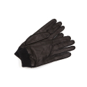 누디진() [NUDIE JEANS] Arvidsson Leather Glove Black 180609-BLK