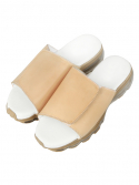 AIR SLIPPER [tan leather]