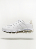 leather air sneaker [white]