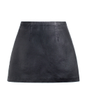 피스워커() [W]Tech Skirt - Black / Semi A Line