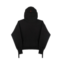 [SSS] STRAP DETAIL HIGH NECK HOODY