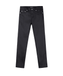 피스워커() Isko Black Selvedge - Black / Crop