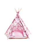 TEEPEE TENT MARBLE PINK