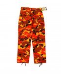 로스코(ROTHCO) (국내배송)COLOR CAMO TACTICAL PANTS ORANGE