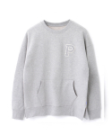 페이퍼먼츠(PAPERMENTS) P. Over Slit Sweatshirt_Gray