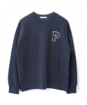 페이퍼먼츠(PAPERMENTS) P. Over Slit Sweatshirt_Navy