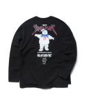 크리틱() CRITIC X GHOSTBUSTERS STAYPUFT LONGSLEEVES (BLACK)_CSOEPRL01MC6